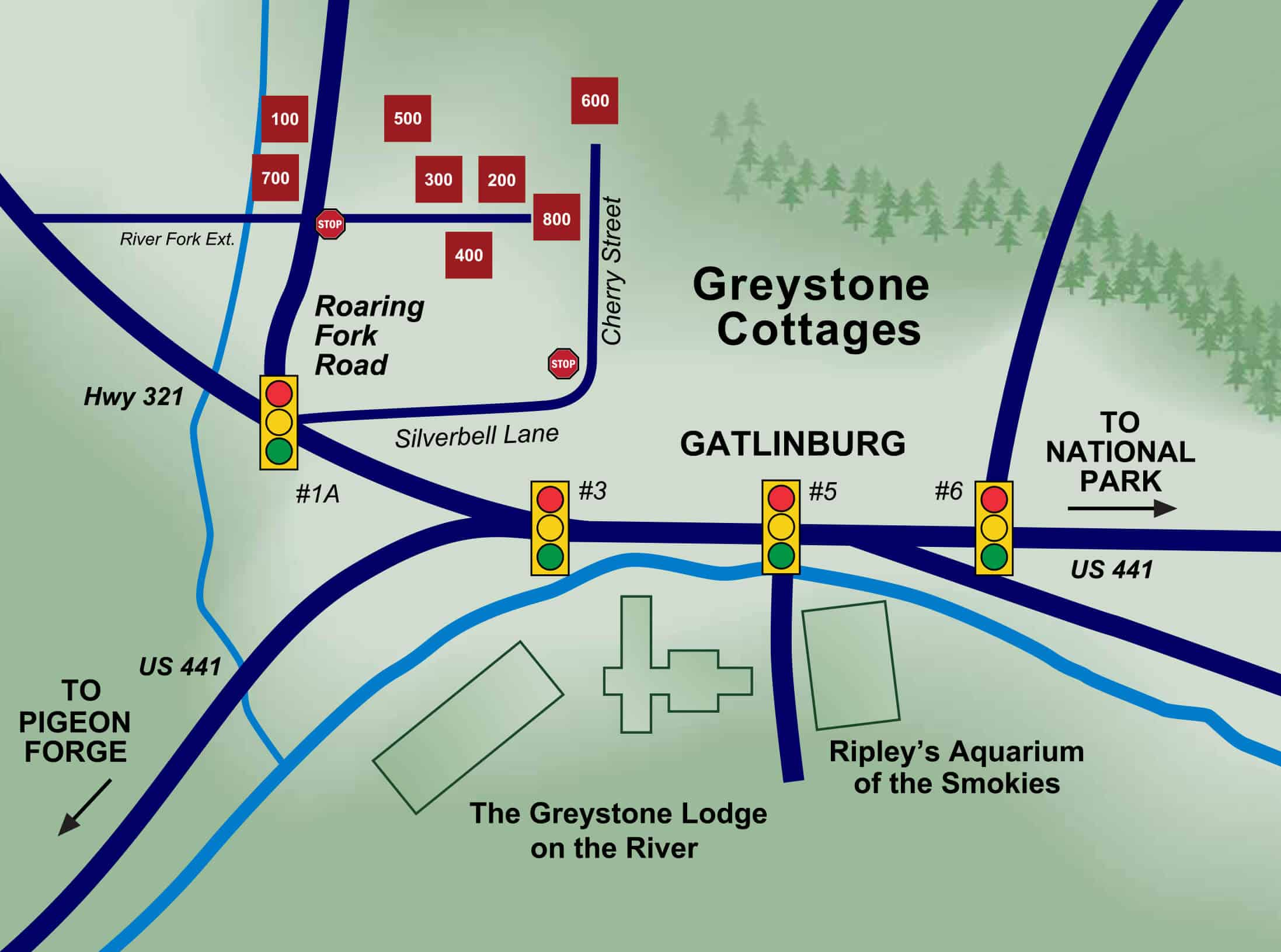 Find Us Cottages The Greystone Lodge On The River Downtown
